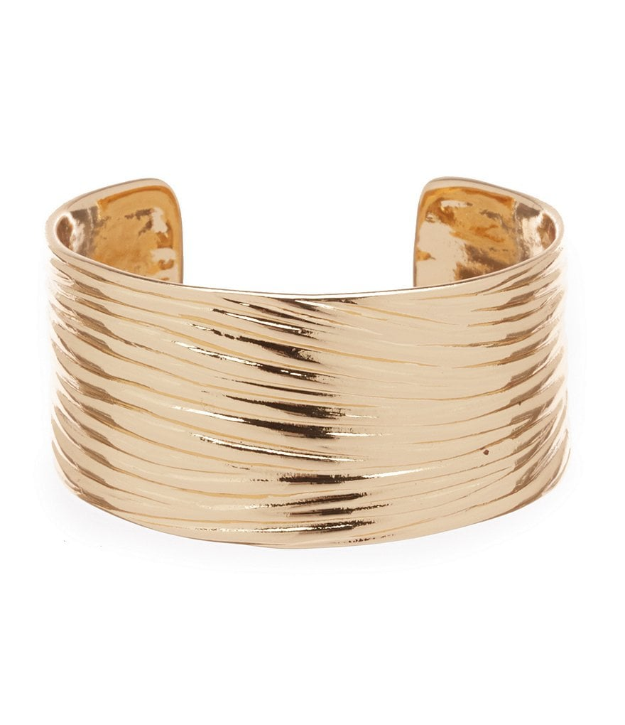 Dillard´s Tailored Ribbed Cuff Bracelet