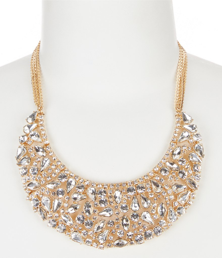 Gemma Layne Crystal Statement Necklace