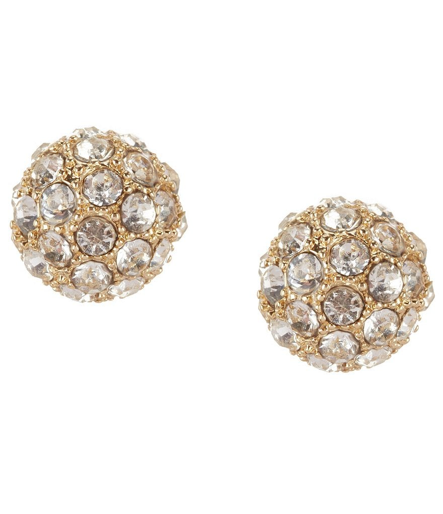 Gemma Layne Fireball Crystal Stud Earrings