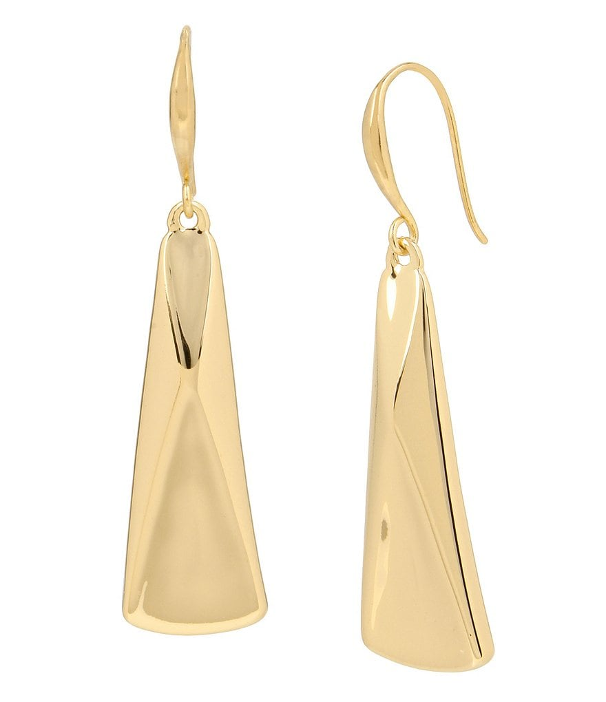 Robert Lee Morris Soho Geometric Drop Earrings