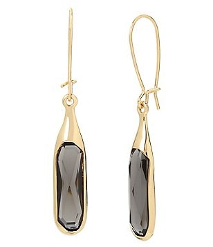 Robert Lee Morris Soho Faceted Stone Drop Earrings