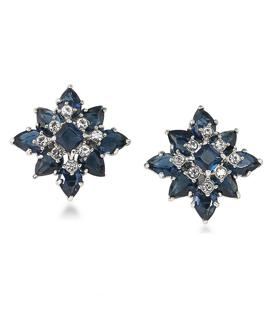 Carolee New York Star Clip-On Earrings