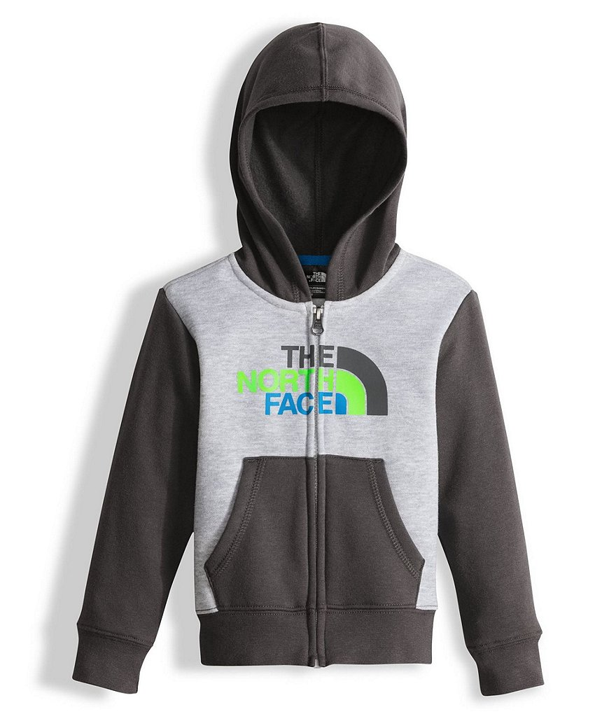 The North Face Little Boys 2T-4T Logowear Full-Zip Hoodie