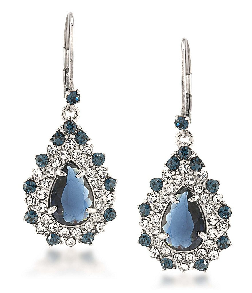 Carolee New York Star Statement Drop Earrings