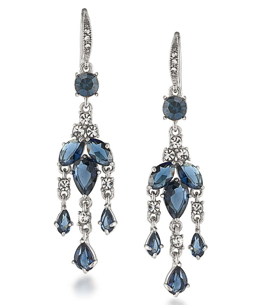 Carolee New York Star Mini Chandelier Earrings