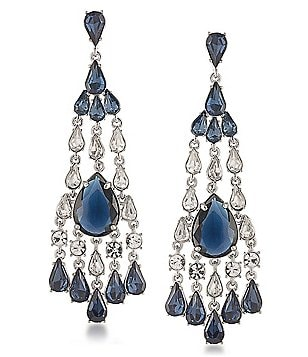 Carolee New York Star Statement Chandelier Earrings