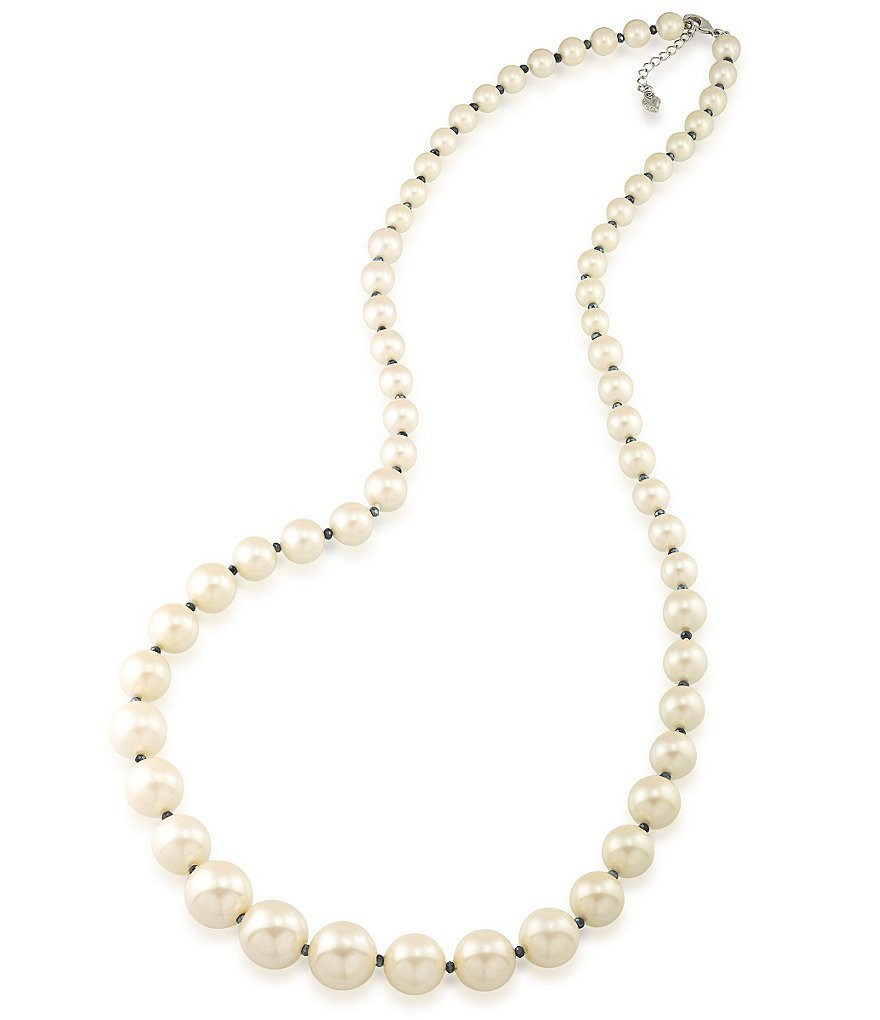 Carolee Soho House Graduated Pearl Necklace