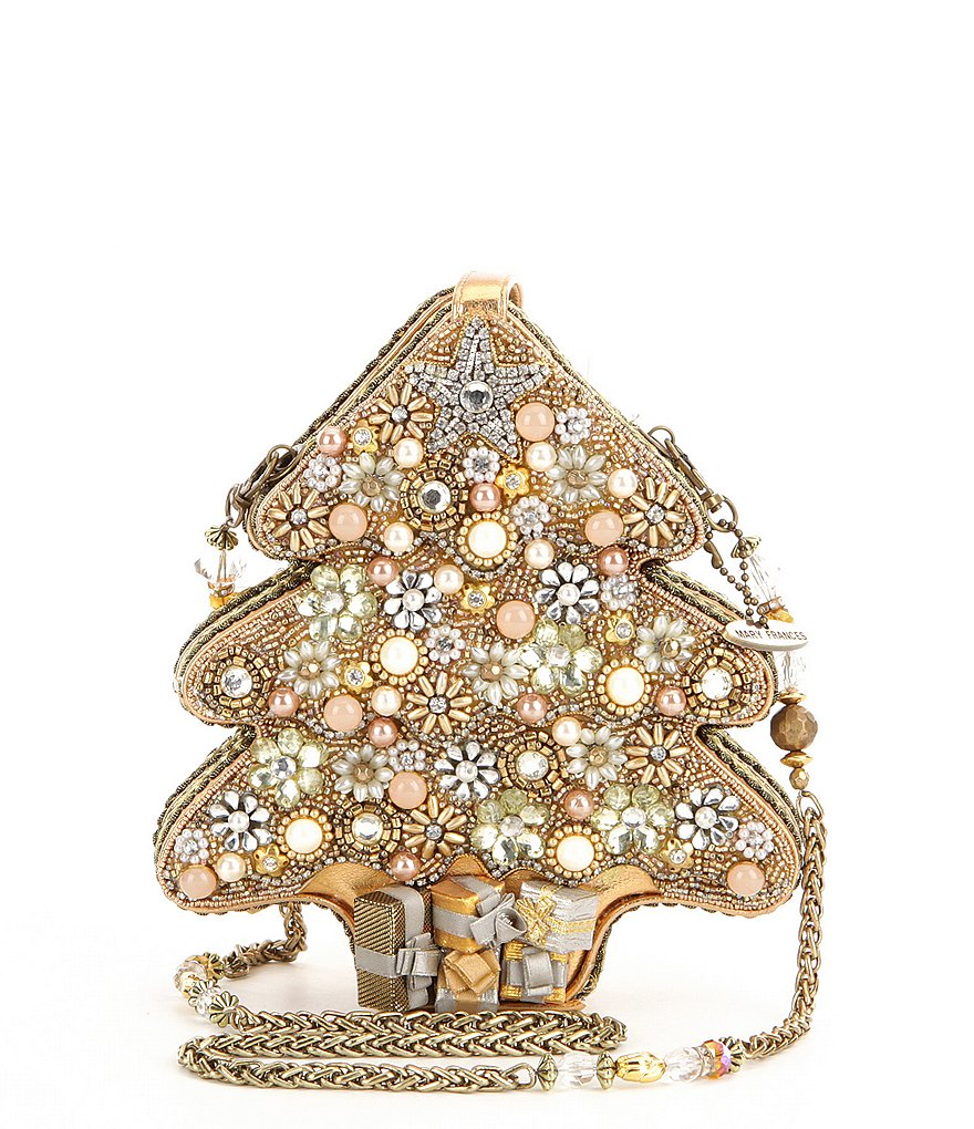 Mary Frances All Aglow Christmas Tree Clutch