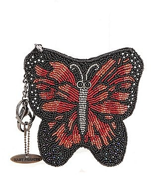 Mary Frances Butterfly Kisses Coin Purse