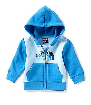 The North Face Baby Boys 3-24 Months Logowear Full-Zip Hoodie