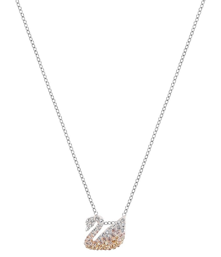 Swarovski Iconic Swan Pendant Necklace