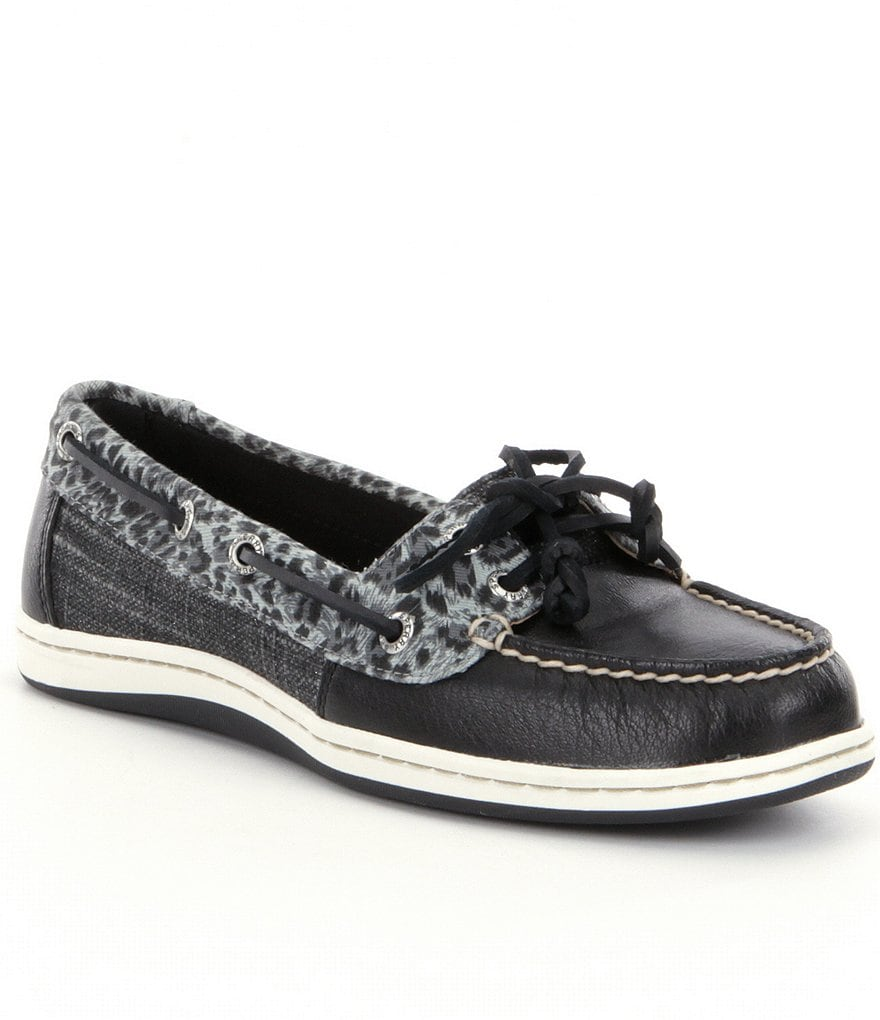 Sperry Firefish Cheetah Boat Shoes