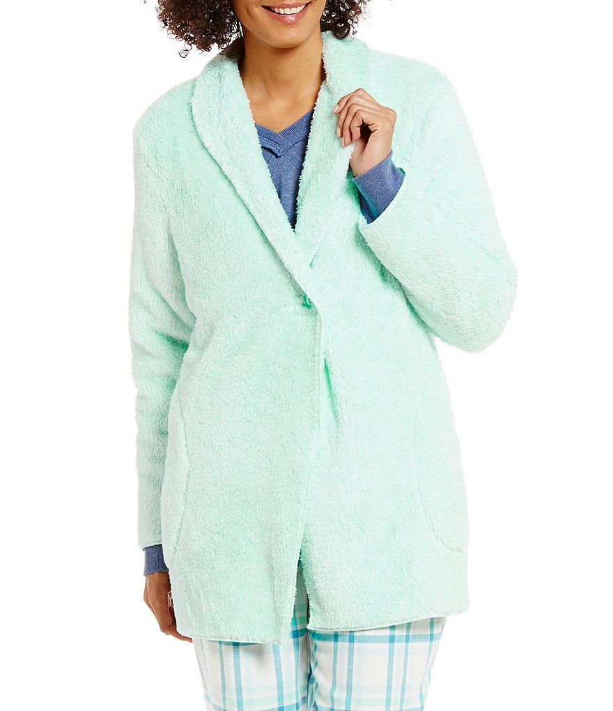 Sleep Sense Plush Fleece Cardigan