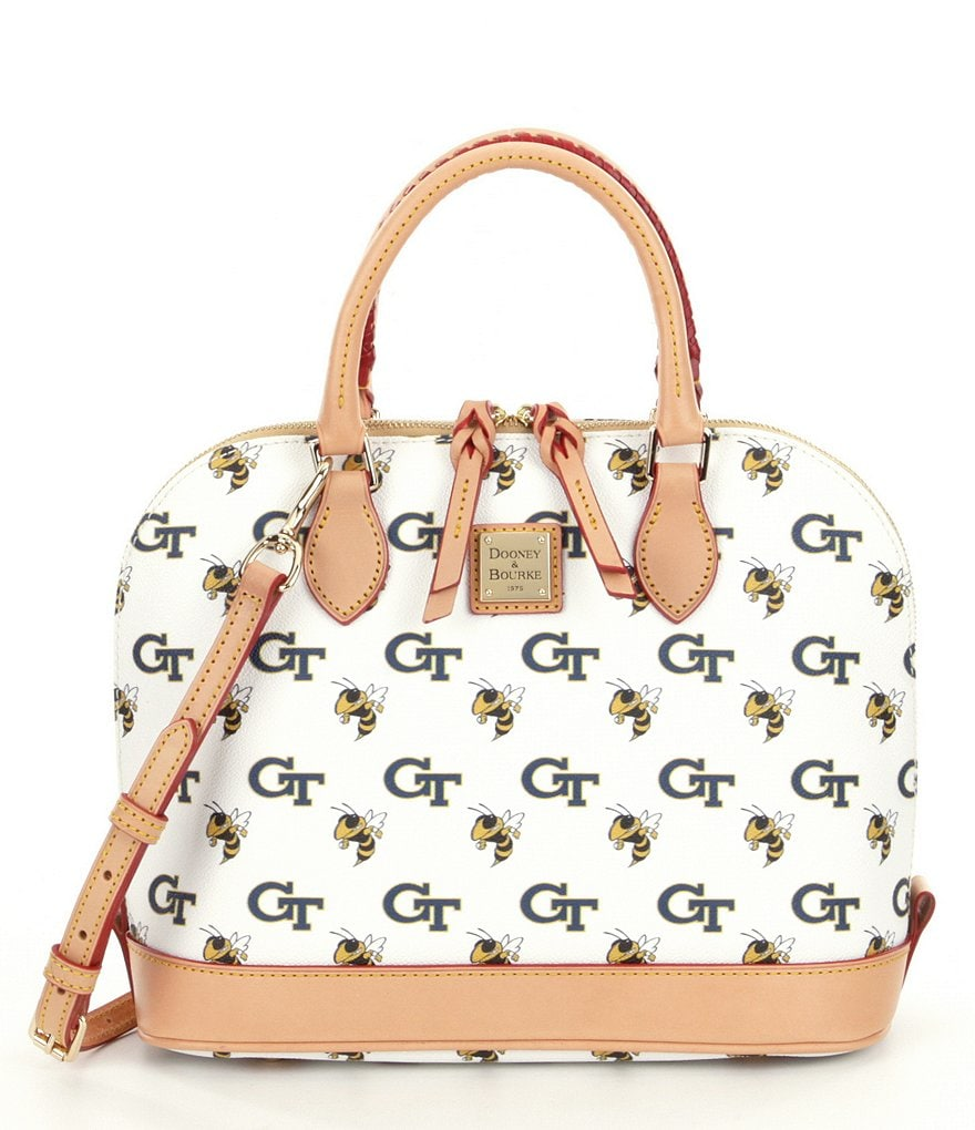 Dooney & Bourke Collegiate Collection Georgia Tech Zip Zip Satchel