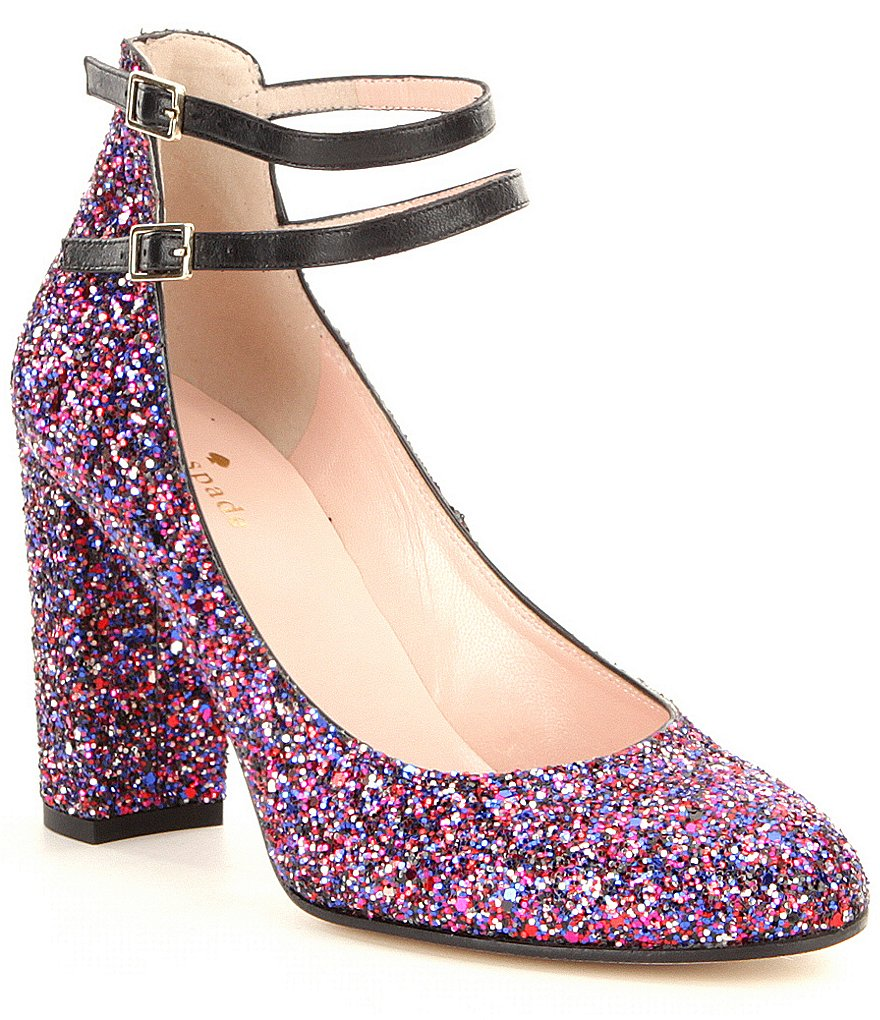 kate spade new york Baneera Glitter Pumps
