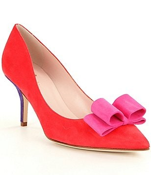 kate spade new york Jenni Bow Pointed Toe Pumps