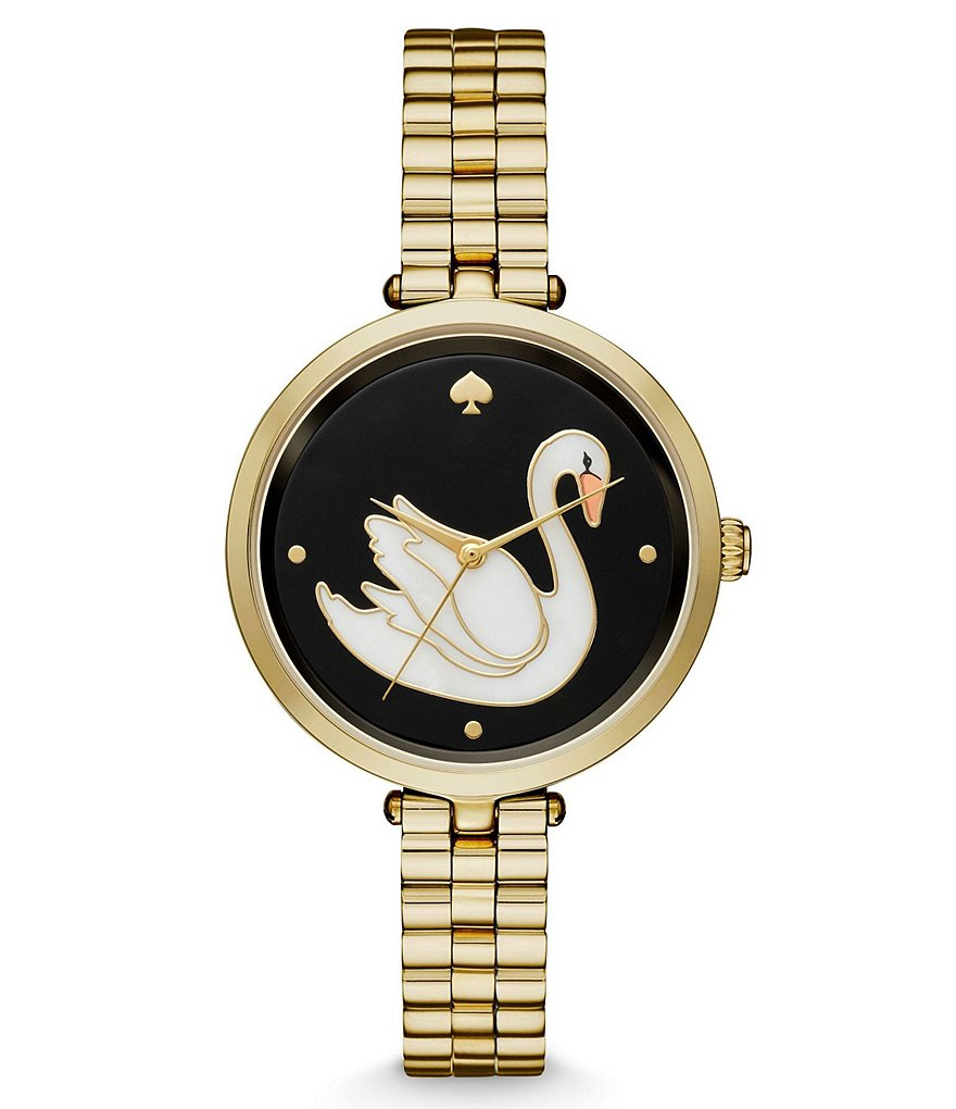 kate spade new york Holland Swan Bracelet Watch