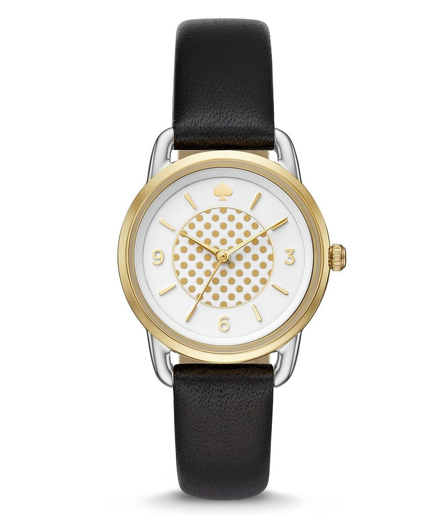 kate spade new york Analog Leather-Strap Watch