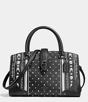 COACH MERCER SATCHEL 24 IN PRINTED LEATHER