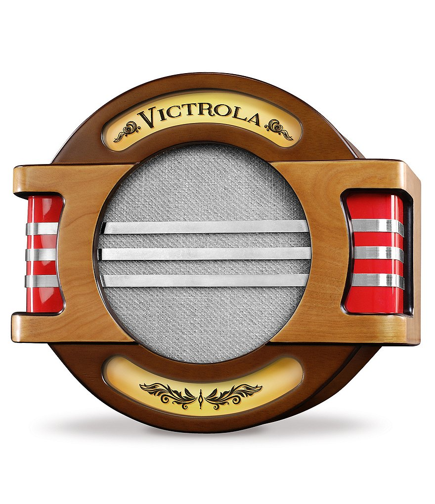 Innovative Technology Nostalgic Victrola Wall-Mount Bluetooth Speaker