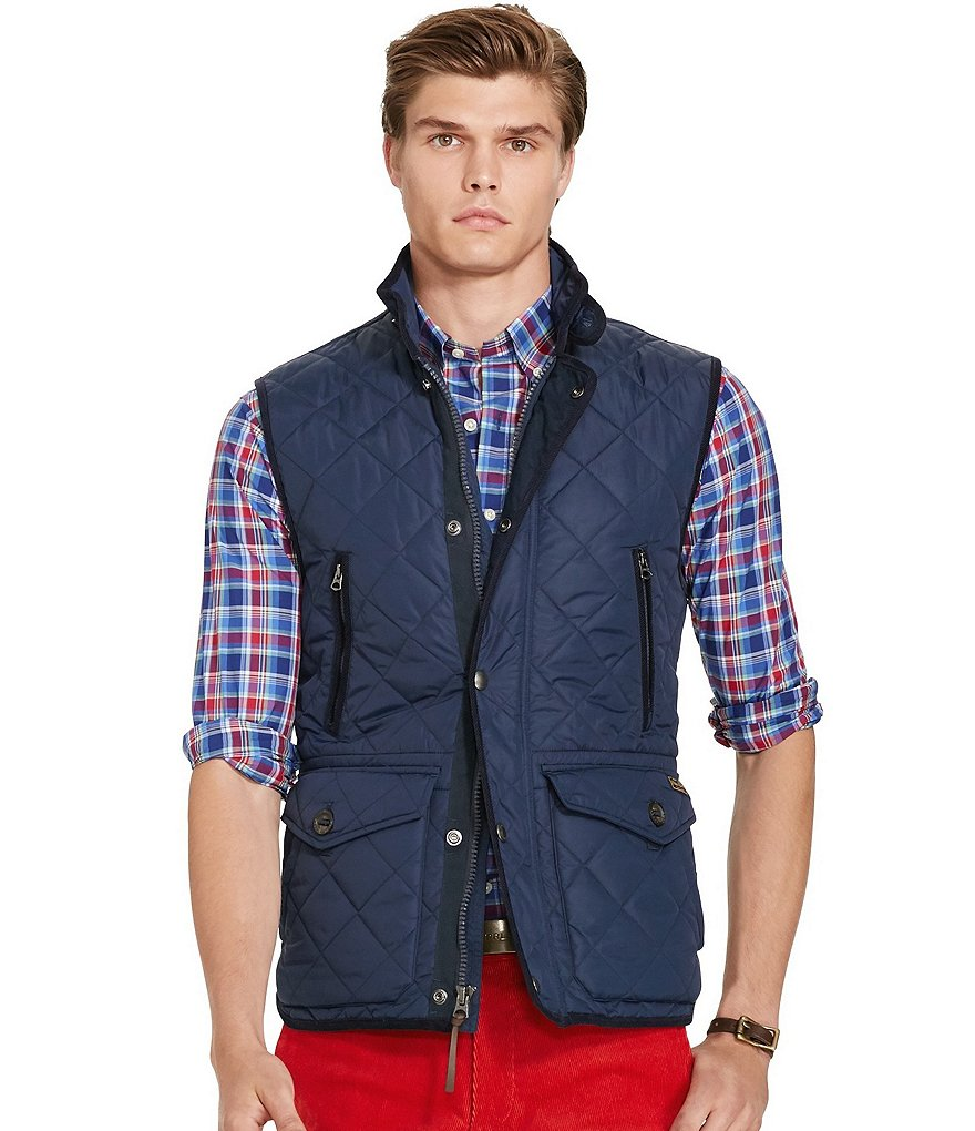 Polo Ralph Lauren Hexham Diamond-Quilted Vest