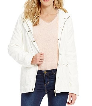 Copper Key Anorak Faux-Shearling Jacket