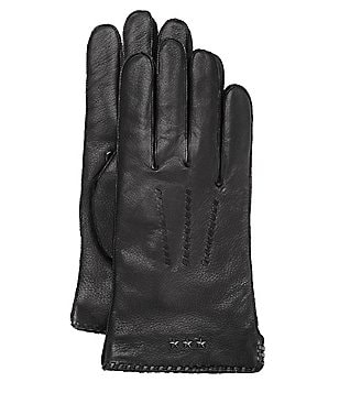 John Varvatos Star USA Whip-Stitched Gloves