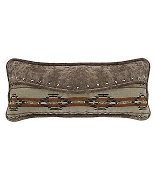 HiEnd Accents Silverado Studded Envelope Bolster Pillow