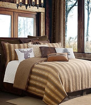 HiEnd Accents Hill Country Southwestern Tile & Houndstooth Cotton Quilt Mini Set