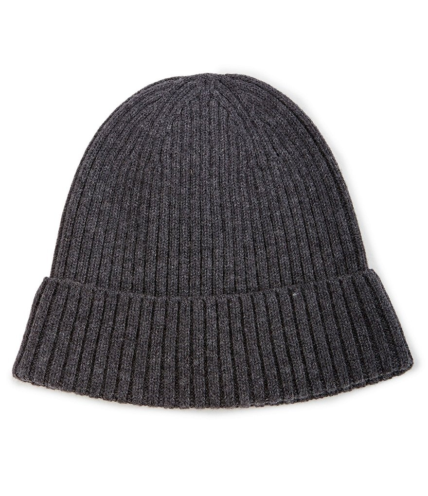 Hickey Freeman Ribbed Knit Beanie