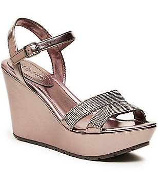 Kenneth Cole Reaction Sole Sparkle Wedge