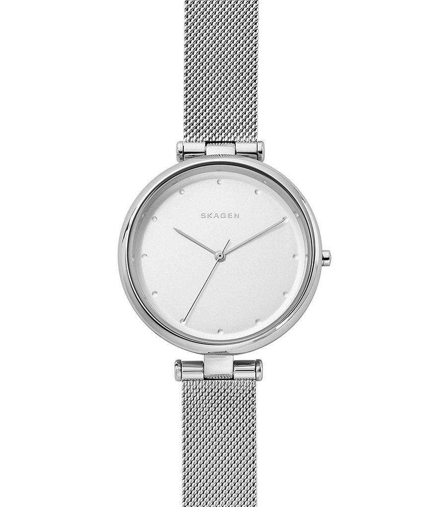Skagen Tanja Analog Mesh Bracelet Watch
