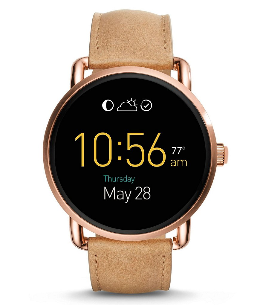 Fossil Q Wander Touchscreen Smart Watch