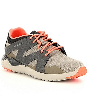 Merrell 1SIX8 Mesh and Leather Lace Up Athletic Sneakers