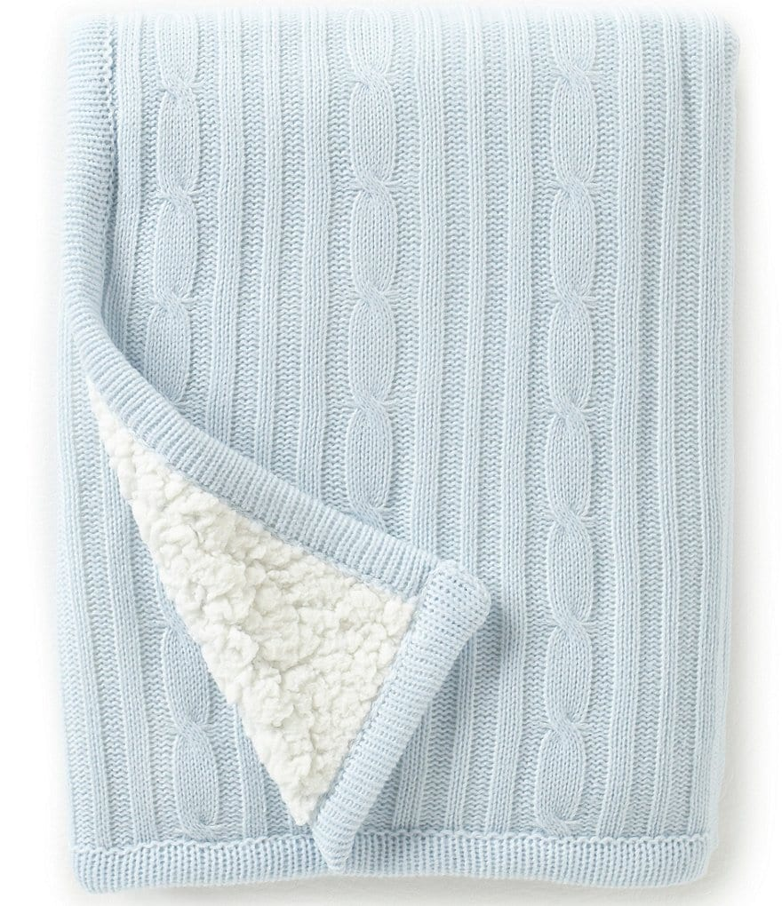 Edgehill Collection Cable Knit Blanket