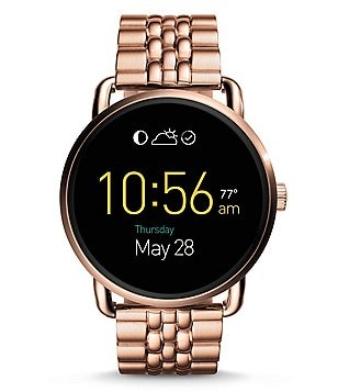 Fossil Q Wander Touchscreen Bracelet Smart Watch