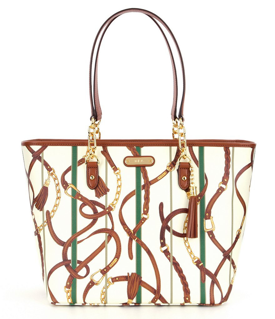 Lauren Ralph Lauren Suffolk Collection Ashley Tote