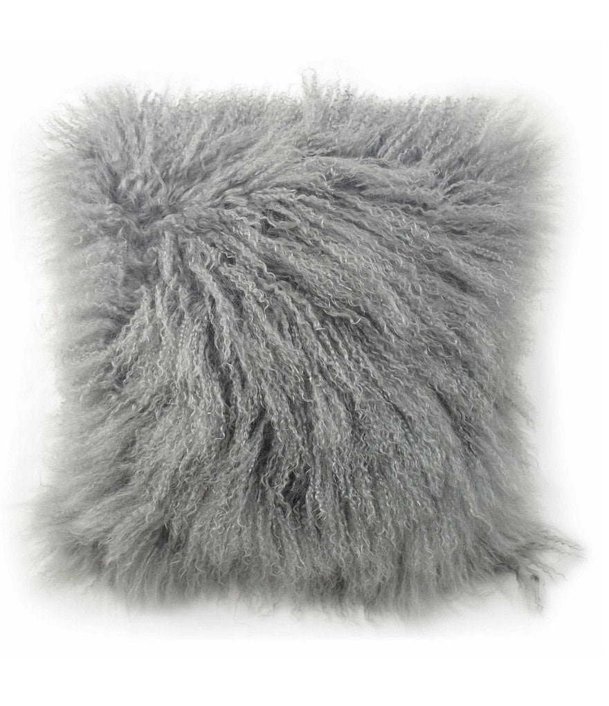 Blissliving HOME Halima Shearling Square Pillow