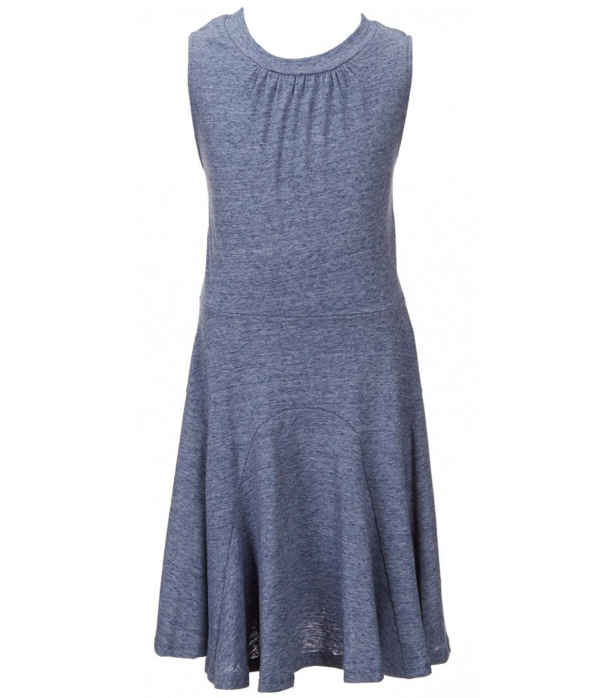Copper Key Big Girls 7-16 Space Dyed Knit Swing Dress