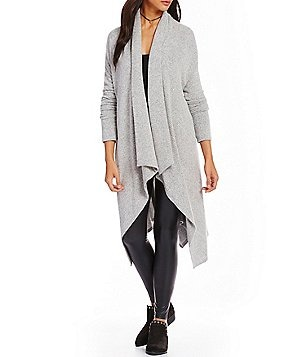 GB Drape Open Front Cardigan