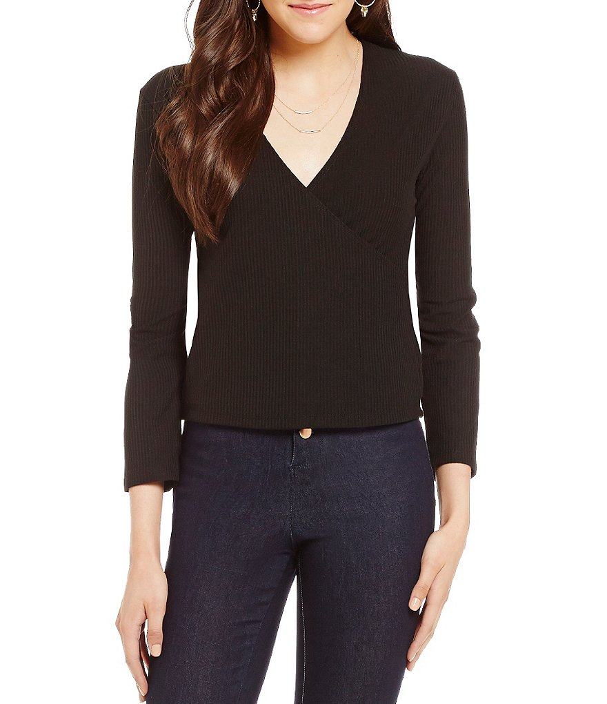 GB Cropped Wrap Top
