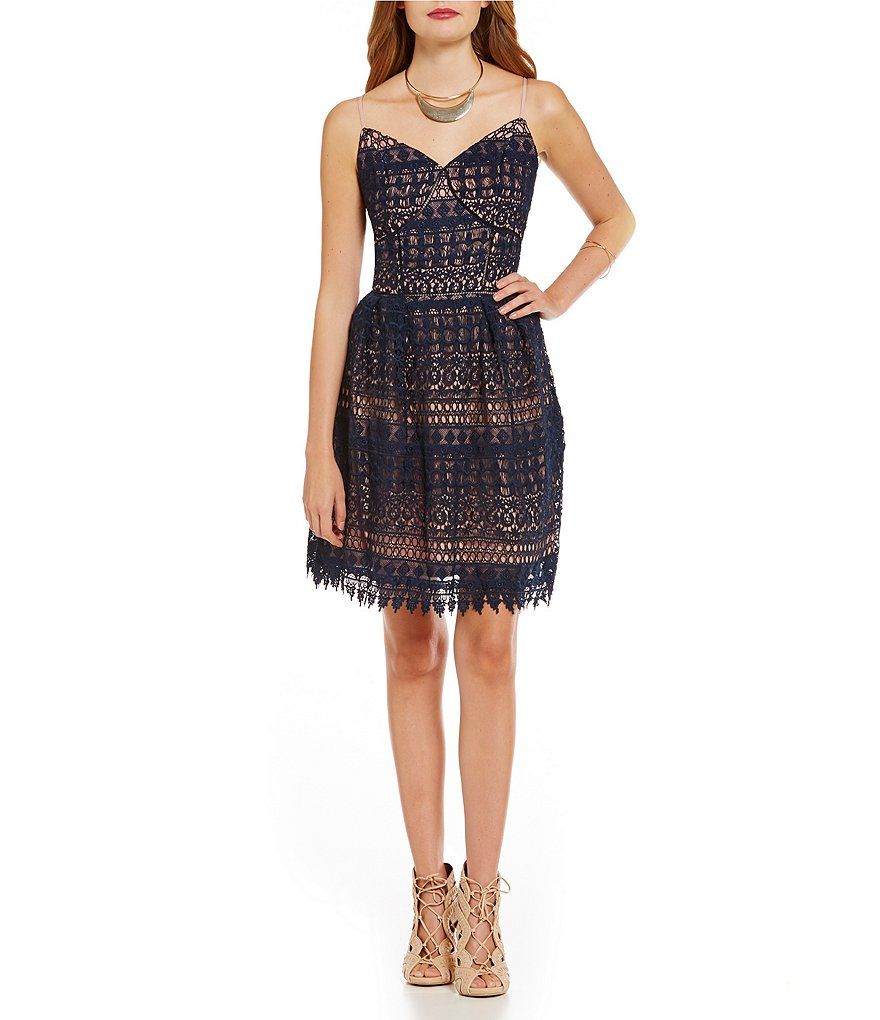 GB A-Line Lace Dress