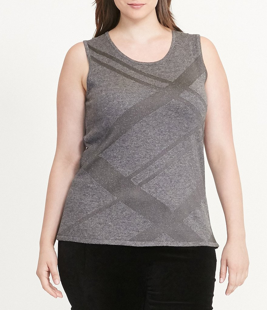 Lauren Ralph Lauren Plus Sleeveless Sweater