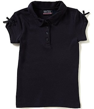 Nautica Little Girls 2T-6X Polo Shirt