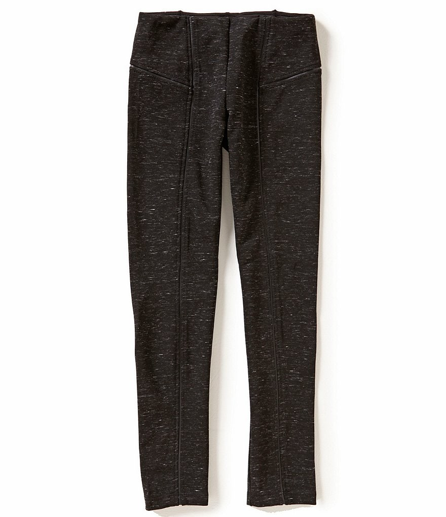 GB Girls Big Girls 7-16 Heathered Ponte Pants