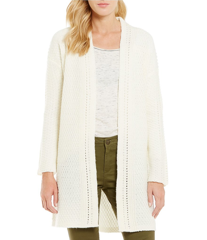 Chelsea & Violet Oversized Open Front Cardigan