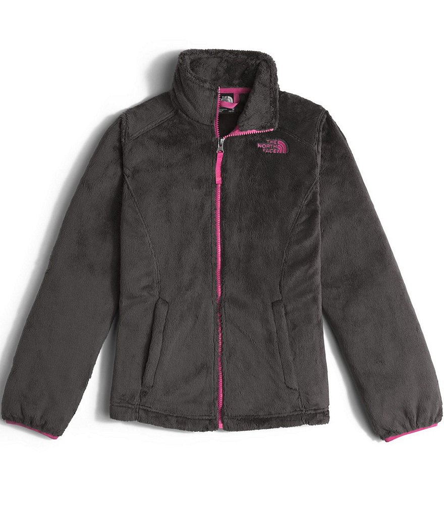 The North Face Little/Big Girls 5-18 Osolita Zip-Front Mock Neck Fleece Jacket