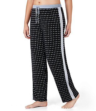 DKNY Plus Dotted Jersey Sleep Pants