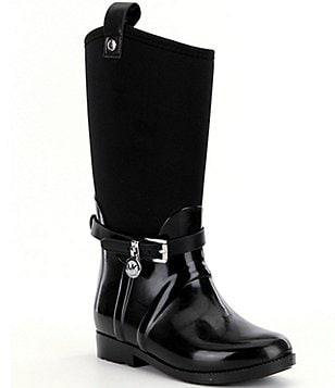 MICHAEL Michael Kors Girl´s Brea Charm Rubber Pull-On Boots