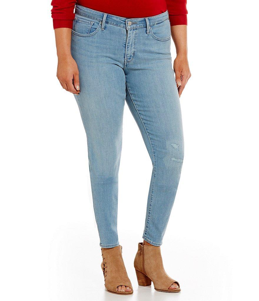 levi s 311 plus shaping skinny jeans dillards. Black Bedroom Furniture Sets. Home Design Ideas